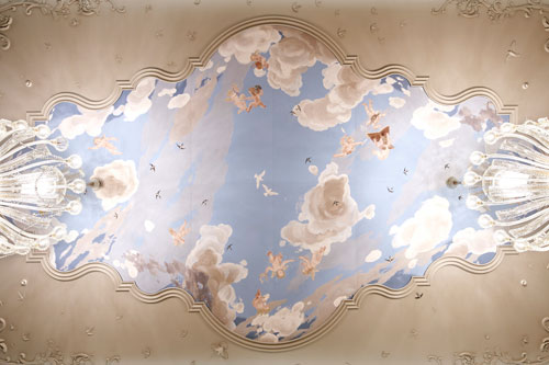 Rococo ceiling painting artikkel